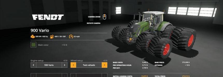 FS19 Beast Fendt 900 Vario VE v1.0
