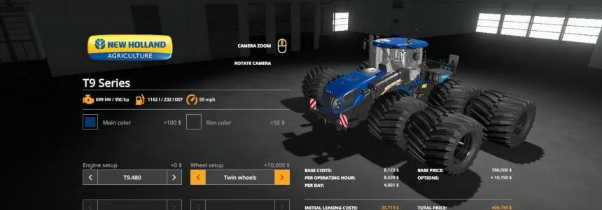 FS19 Beast Newholland T9 Series VE v1.0