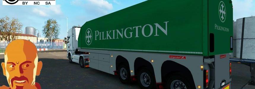 GLASS TRAILERS REWORKED ETS2 1.33.x