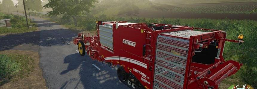 Grimme Varitron 470 potato harvester by Stevie
