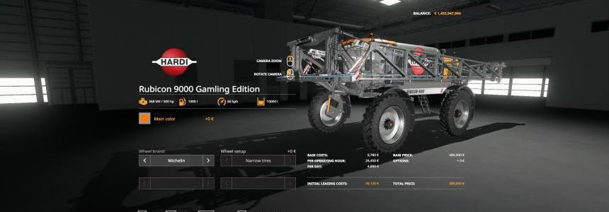 Hardi Rubicon 9000 Gamling Edition v1.0.0.0