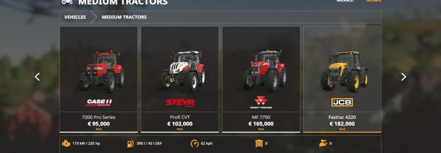 Iconik Medium Tractors v1.0.0