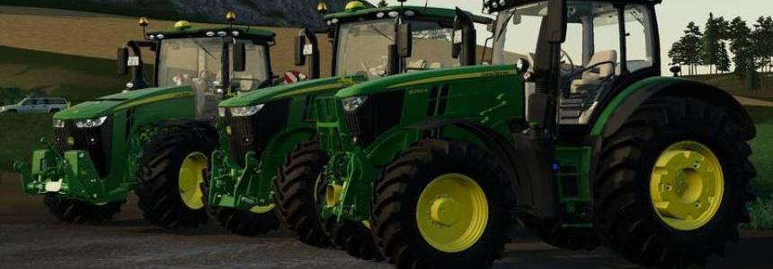 John Deere R-Series Pack by BC6 v1.0.1.0