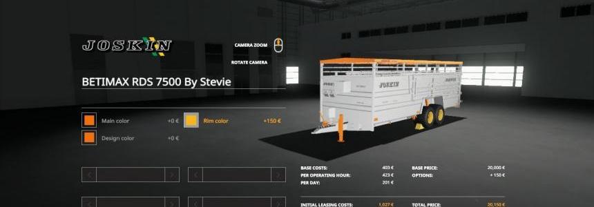 Joskin BETIMAX RDS 7500 By Stevie