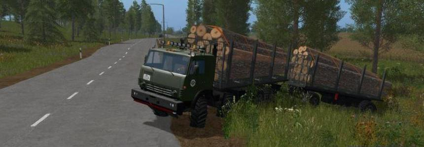 Kamaz Pack 8x8 Timber truck Beta