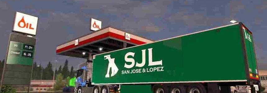 Lamberet Trailer - S.J.L - ETS2 1.33.x