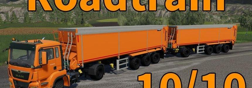 MAN + Krampe trailer with trailer coupling v1.1.0.0
