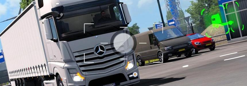 Mercedes Benz Actros MP4 Angel Headlight v1.0
