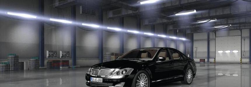 Mercedes Benz s350 4matic 2009 ATS v1.0
