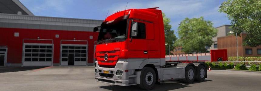 Mercedes MP3 - Paintjob PJ v0.2 - ETS2 1.33