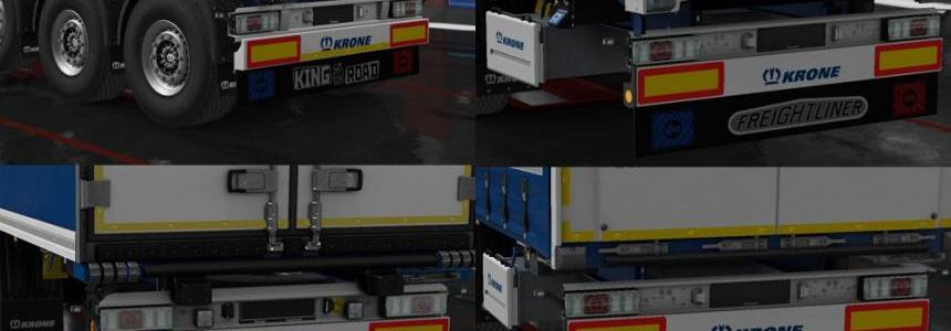 Mudflaps for own trailers Krone v1.0