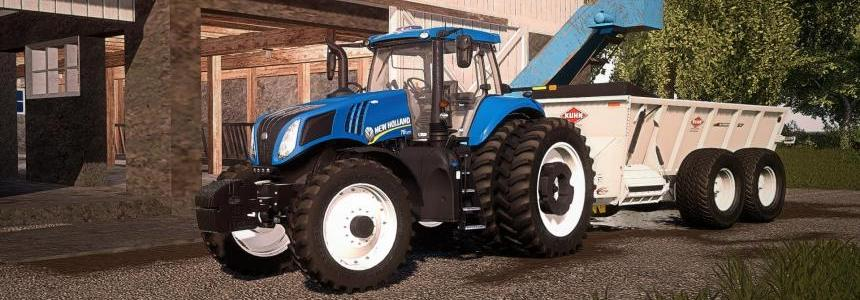 New Holland T8 American v1.0