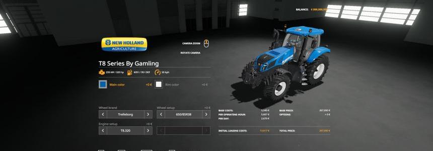 New Holland T8 Series By Gamling v1.0.0.1