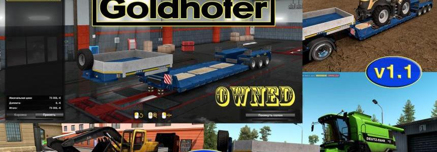 Ownable overweight trailer Goldhofer v1.1