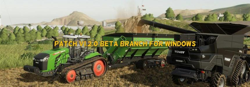 Patch v1.2.0 Beta Branch For Windows