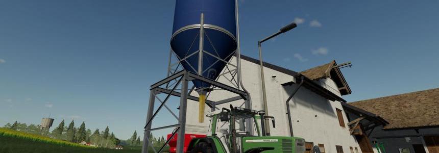 Placable fertilizer silo v1.0.0.0