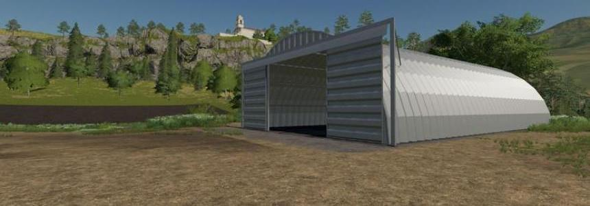 Placeable Quonset Shed v1.0.0.0