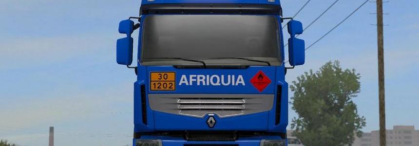 Renault Premium - Skin AfricaGaZ - ETS2 1.33