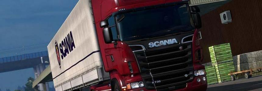 Scania L6 for R/streamline RJL/RS/ R4/ T 1.33