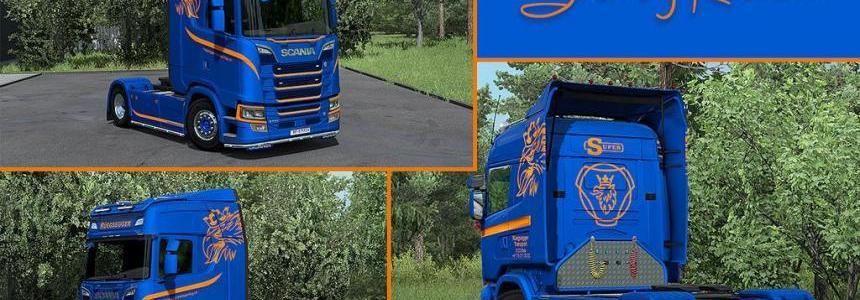 Scania Ruegsegger Transport skin pack 1.33