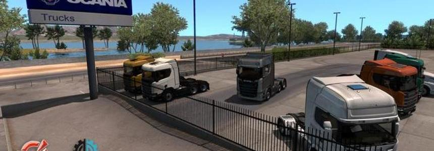 Scania Trucks Mod v2.0 for ATS