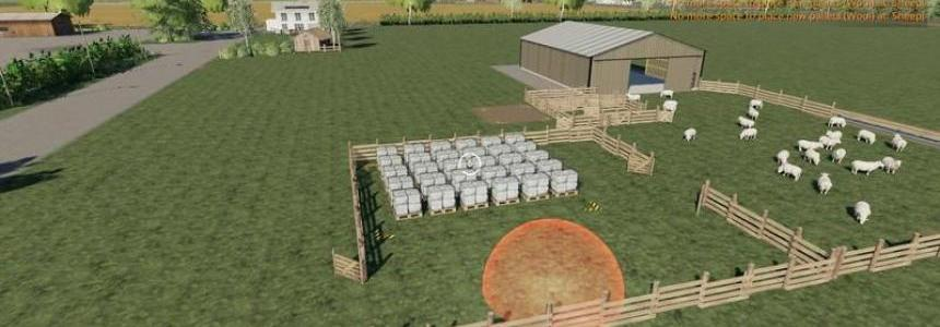 Sheep fold with more pallet space v1.0