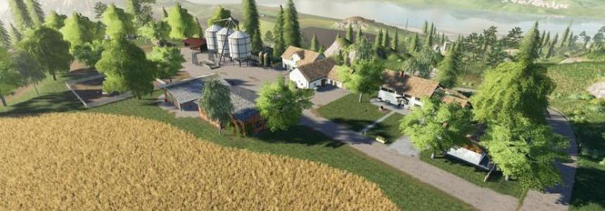 SimFarmer Felsbrunn Mountain Top Farm v1.0