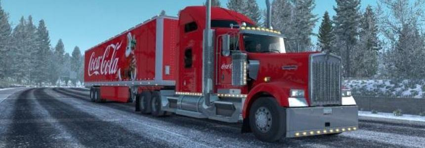 Skin Coca Cola Christmas for your trailer and trucks v1.0