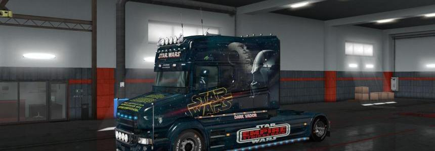 Skin Scania T Longline Star Wars 1.33