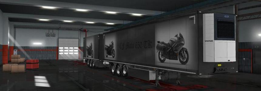 Skin with graphic design Motorcycles v1.0