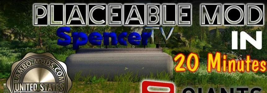 SpencerTV Placeable Sign -  tutorial included v1.0