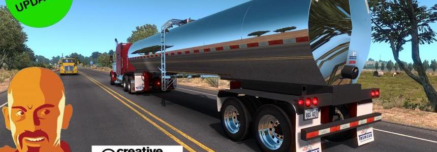 TREMCAR MILK TANKER TRAILER REWORKED ATS 1.33.x