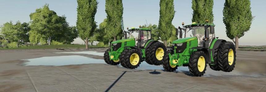US John Deere tractor pack v1.0