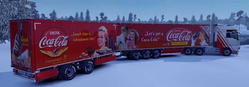 Vintage Coca Cola Skins for Owned Trailers 1.33