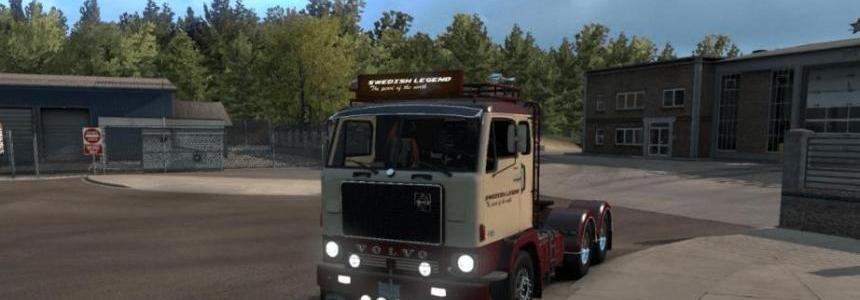 Volvo F88 + BDF trailer v1.1
