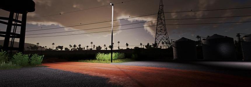 Wooden Yard Light v1.0
