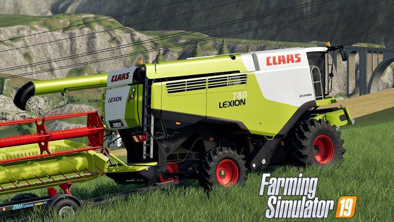 FS19 Claas LEXION 780 v1 0 0 0 - Modhub us