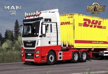 MAN TGA Euro 6 Sound for MAN E6 by Madster 1.33.x