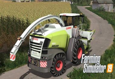Claas Jaguar 900 Series v1.0