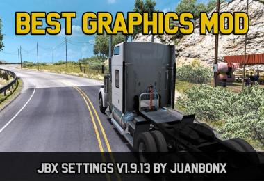 [ATS] JBX Settings v1.9.13 – Reshade