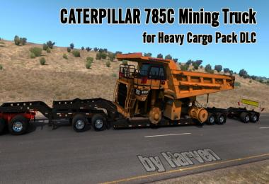 Caterpillar 785C Mining Truck for Heavy Cargo Pack DLC 1.33.x