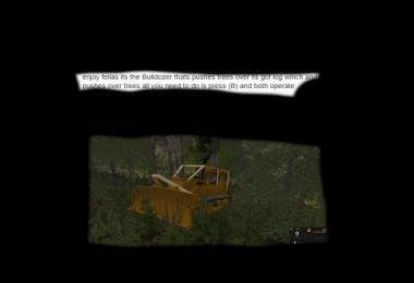 D6 land clearing dozer v1.0