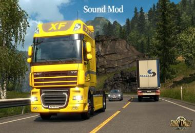 DAF XF Paccar MX mod updated 1.33
