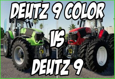 Deutz Fahr Series 9 Muilticolor v1.0.0.3