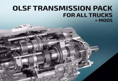 Dual Clutch Transmission Pack 6 for All trucks 1.33
