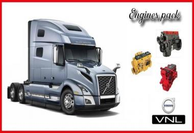 Engines Sounds mod for SCS Volvo VNL v2.0 1.32.x-1.33.x