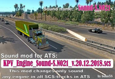 Engine Sound S.N021 1.33.x