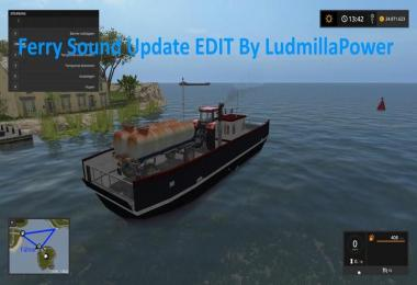 Ferry Sound Update By Ludmilla Power