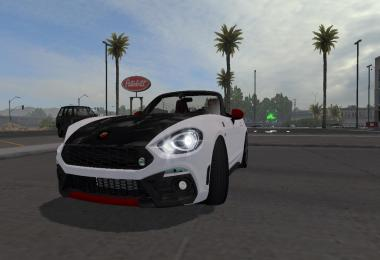 Fiat 124 Spider (Abarth) for ATS 1.33.x