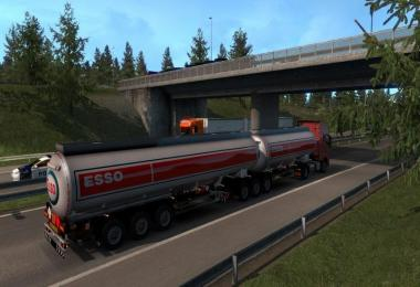 Fix 1.33 for Chris45 Trailers Pack v9.10 + Doubles in Traffic
